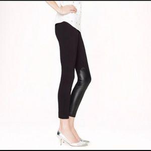 J. Crew | Pixie Jodhpur Pants Leather Panels Sz 4
